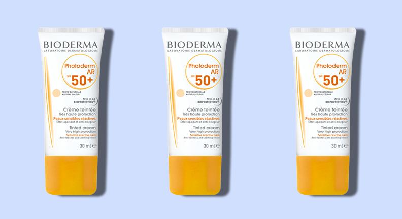 Best Sunscreen for Face: Bioderma photoderm AR 50+